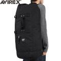 AVIREX アビレックス EAGLE ミリタリー ダッフルバッグ ブラック アヴィレックス(キャンペーン対象外)