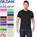 【メーカー取次】 GILDAN ギルダン 63000 Softstyle 4.5oz S/S アダルトTシャツ Japan Fit【Sx】