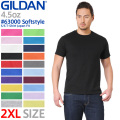GILDAN ギルダン 63000 Softstyle 4.5oz S/S アダルトTシャツ Japan Fit【Sx】