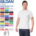 【メーカー取次】 GILDAN ギルダン 76000 Premium Cotton 5.3oz S/S アダルトTシャツ Japan Fit #1(010~105)【Sx】