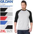 GILDAN ギルダン 76700 Premium Cotton 5.3oz アダルト ラグラン Tシャツ Japan Fit 【キャンペーン対象外】