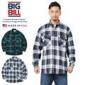 ★今だけ15%OFF特価★【即日出荷対応】BIG BILL ビッグビル 121 L/S 9oz Premium Brawny Flannel ヘビーウェイト ワークシャツ タータンチェック MADE IN USA