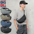 ★今ならカートで18%OFF割引★【即日出荷対応】BIG BILL ビッグビル BB-006 BEAUCEVILLE(ボースビル)ウエストバッグ / ボディバッグ