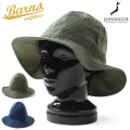 BARNS OUTFITTERS バーンズ アウトフィッターズ BR-7686 2 TONE COTTON HAT コットンハット