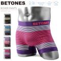 ◎まとめ割引対象◎BETONES ビトーンズ ボクサーパンツ NEON3 B005【Sx】