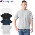 ☆今だけ25%割引中☆【即日出荷対応】Champion チャンピオン C3-P318 REVERSE WEAVE S/S ポケット Tシャツ