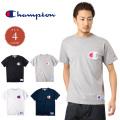 """☆20%OFFセール☆Champion チャンピオン C3-F362 アクションスタイル ビッグ""""C""""ロゴTシャツ★"""