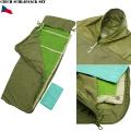 実物 新品 チェコ軍シュラフセット (寝袋)