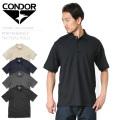 【キャンペーン対象外】CONDOR コンドル 101060 PERFORMANCE タクティカルポロシャツ