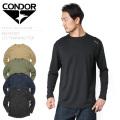【キャンペーン対象外】CONDOR コンドル 101121 MAXFORT ロングスリーブ トレーニング Tシャツ