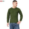 【即日出荷対応】実物 新品 カナダ軍 ARMY L/S ワッフル Tシャツ カナダ製【キャンペーン対象外】 長袖 ミリタリーファッション 軍服