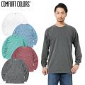 ☆セール☆【メーカー取次】COMFORT COLORS コンフォートカラーズ 6014 ヘビーウエイト L/S Tシャツ