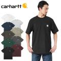 Carhartt カーハート CRHTT87 S/S ポケット付き クルーネック Tシャツ 半袖 ビッグシルエット
