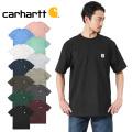 ★カートで18%OFF割引対象★Carhartt カーハート CRHTT87 S/S ポケット付き クルーネック Tシャツ 半袖 ビッグシルエット