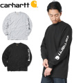 Carhartt カーハート CRHTT-K231 L/S GRAPHIC LOGO Tシャツ
