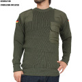 実物 新品 ドイツ軍 コマンドセーター オリーブ ミリタリーファッション 軍服