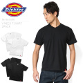 ☆20%OFFセール☆Dickies ディッキーズ GA-18515300 Vネック パックTシャツ 2PIECE