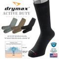 ★今ならカートで15%OFF割引★【ネコポス便対応】Drymax ドライマックス Active Duty クルーソックス MADE IN USA
