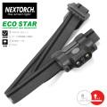 NEXTORCH ネクストーチ ECO-STAR LIGHT WEIGHT LEDヘッドライト / 4モード 48ルーメン 懐中電灯