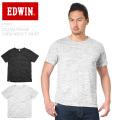 EDWIN エドウィン ET5207 ストームフライス クルーネック Tシャツ