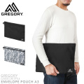 GREGORY グレゴリー ENVELOPE POUCH A3 エンベロープポーチ A3