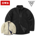 ☆ただいま20%割引中☆EDWIN エドウィン ET5630 F.L.E(フリー)ボアフリースジャケット
