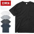 【ネコポス便対応】EDWIN エドウィン ET5678 ベーシック ポケット H/S クルーネック Tシャツ 半袖