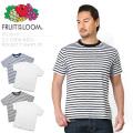 FRUIT OF THE LOOM フルーツオブザルーム 822 S/S クルーネック ポケットTシャツ 2枚組