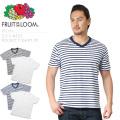 FRUIT OF THE LOOM フルーツオブザルーム 822 S/S Vネック ポケットTシャツ 2枚組