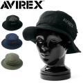 AVIREX アビレックス ダメージ加工 TWILL バケットハット【GA17892600】