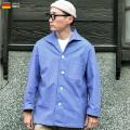 ☆ただいま20%割引中☆【即日出荷対応】実物 新品 ドイツ軍 パジャマシャツ ライトブルーシャツ△
