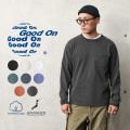 【即日出荷対応】Good On グッドオン GOLT-1306 L/S ポケット Tシャツ 日本製【Sx】【T】