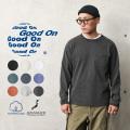 ★カートで18%OFF対象品★【即日出荷対応】Good On グッドオン GOLT-1306 L/S ポケット Tシャツ 日本製【Sx】【T】