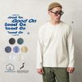 【即日出荷対応】Good On グッドオン GOLT-1601 L/S ヘンリーネックTシャツ 日本製【Sx】【T】