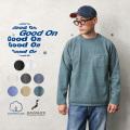 【即日出荷対応】Good On グッドオン GOLT-1805 L/S ヘビー ラグラン ポケットTシャツ 日本製【Sx】【T】
