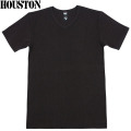 ☆15%OFFセール☆HOUSTON ヒューストン デイリーウエア パックT-Shirt Vネック ブラック