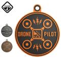 ★カートで最大15%OFF★【ネコポス便対応】HAZARD4 ハザード4 Drone Pilot ドローンパイロット ベルクロパッチ