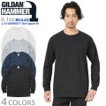 【メーカー取次】【XS~XLサイズ】GILDAN ギルダン HA40 6.1oz L/S HAMMER(ハンマー)長袖 Tシャツ Japan Fit【Sx】