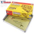 ★今だけカートで15%OFF割引★【即日出荷対応】C.H.HANSON C.H.ハンソン 真鍮製 ブラス ステンシルプレート【5インチ】46ピース 英数字セット