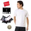 Hanes ヘインズ H5180-2 BEEFY パックTシャツ 2枚組