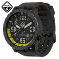 【メーカー取次】【代金引換不可】HAZARD4 ハザード4 HWD Nightwatch Yellow GMT ダイビングウォッチ GREEN hours ミリタリーウォッチ 腕時計