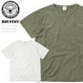 ☆今だけ25%割引中☆HOUSTON ヒューストン 21703 HERRINGBONE JQ(ヘリンボーン ジャガード)Tシャツ