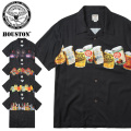 HOUSTON ヒューストン ヴィンテージ デザイン アロハシャツ