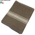 実物 新品 イタリア軍ウールブランケット