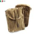 ☆今だけ20%OFF☆実物 イタリア軍 コットンキャンバス ベルトポーチ USED ミリタリー マガジンポーチ