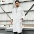 ☆驚愕の25%OFFセール中☆実物 新品 イタリア軍 コットンツイル ワークコート ホワイト 軍放出品 ミリタリーファッション
