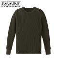 【キャンペーン対象外商品】C.A.B.CLOTHING J.G.S.D.F. ビッグワッフル 長袖Tシャツ 2524