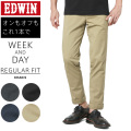 ☆ただいま20%OFF☆EDWIN エドウィン K4020 WEEK AND DAY REGULAR FIT CHINO パンツ