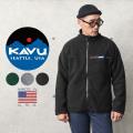 KAVU カブー 19810137 フルジップ フリース スローシャツ MADE IN USA【Sx】【T】