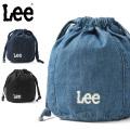 ☆ただいま15%割引中☆【ネコポス便対応】Lee リー LA0302 DRAWSTRING BAG 巾着バッグ